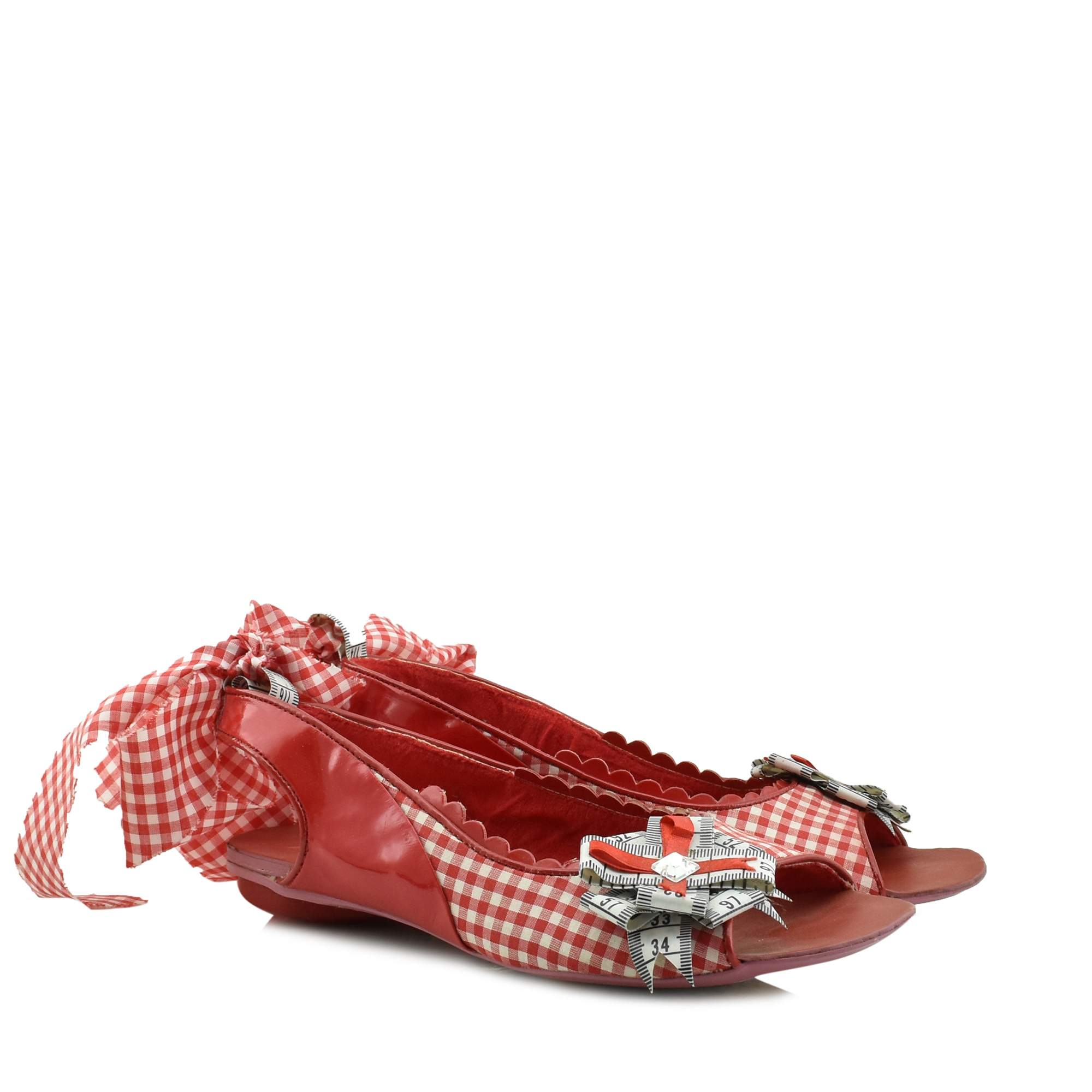 IRREGULAR CHOICE WHITE-RED - 3492-13B