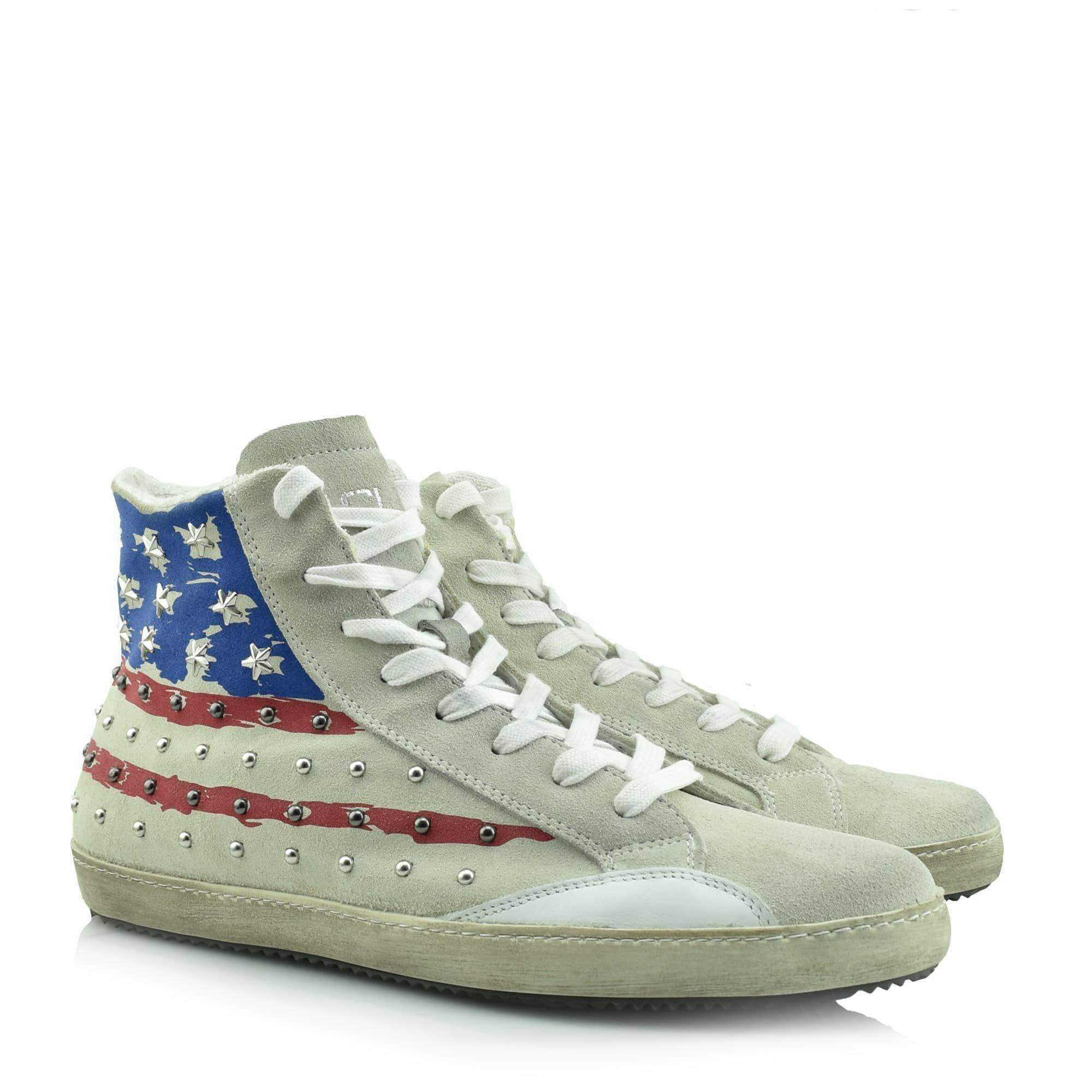 CULT USA FLAG SUEDE - CLE 101481