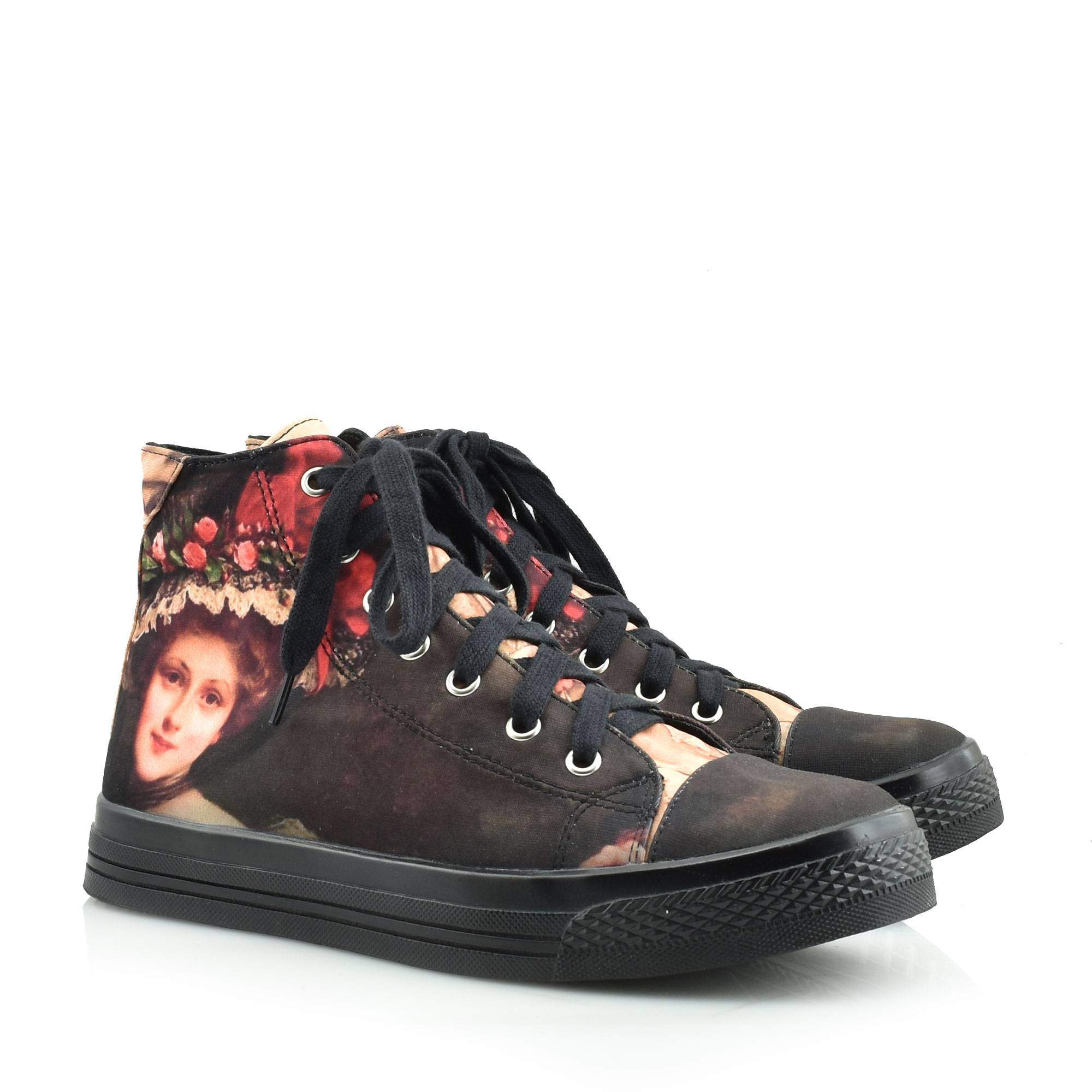 JEFFREY CAMPBELL JEFFREY STAR SNEAKERS - F1327