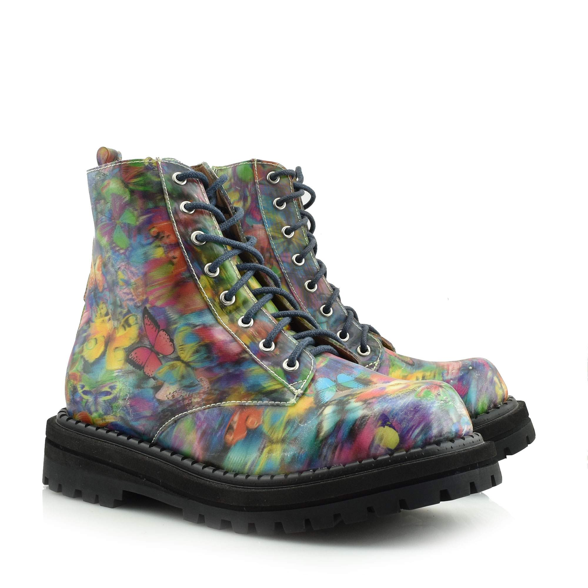 JEFFREY CAMPBELL MULTI BLUE - GROHL