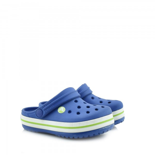 DION Shop Crocs Kids CERUTEAN BLUE  VOLT GREEN - CROCBAND KIDS ... 151b3514b63